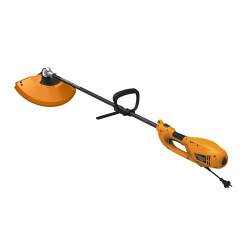 Коса электрическая CARVER TR-1500S (разъемн. прям. штанга, нож 3 зуб., леска 2,4, ТН 3343 ) / 01.002.00009